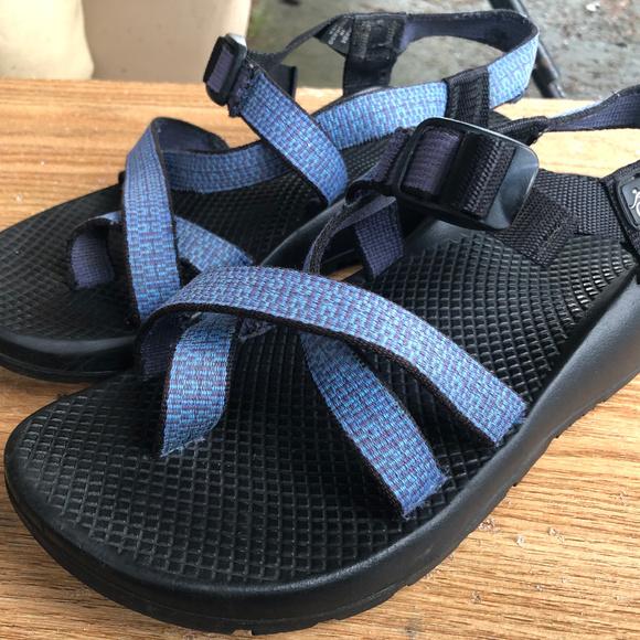 Chaco Shoes - Chaco Z2 Women's Blue Cloud Sport Sandals Size 9